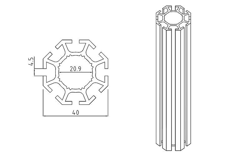Výstavnický systém Alufinal obr.01