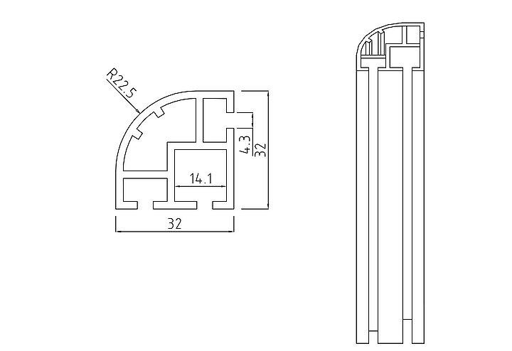 Výstavnický systém Alufinal obr.03