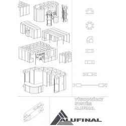Výstavnický systém Alufinal