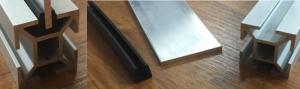 KOMBI 30 - Těsnění s vnitřkem 2-3mm