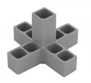 Plast. spojka pro J20x20x1,5  5D