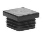 Plast. koncovka pro J20x20x1,5  černá